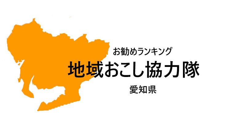 地域おこし協力隊 愛知県