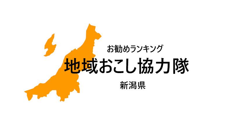 地域おこし協力隊 新潟県