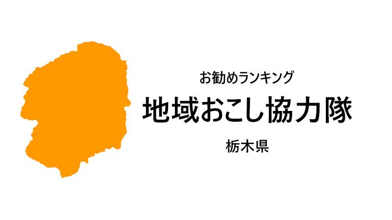 地域おこし協力隊 栃木県 ランキング