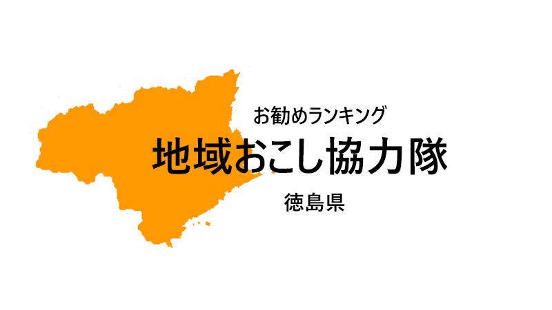 地域おこし協力隊 徳島県 ランキング